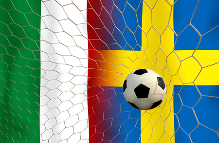 ( Football ) Italy  and Sweden.