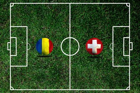 (Fußball) Rumänisch und Schweiz