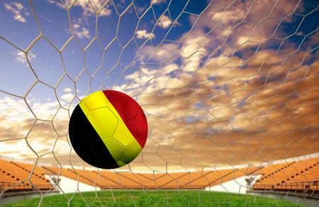 Fußball-Team Österreich ins Tor. Standard-Bild