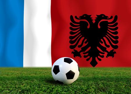 (Fußball) Albanai und Frankreich