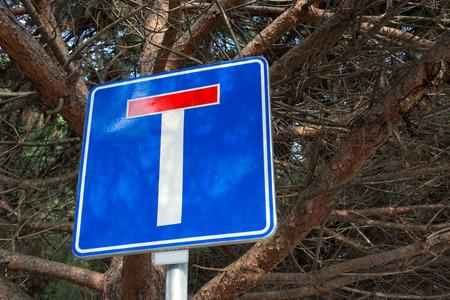 dead end: dead end traffic sign