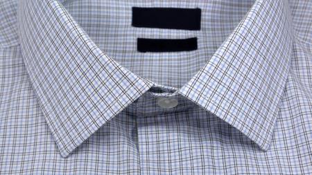 collar: plaid collar Stock Photo
