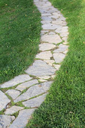 stone path: Stone path Stock Photo