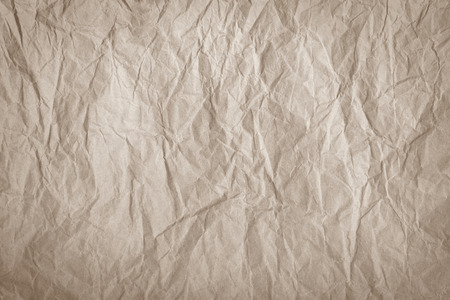 imbalance: crumpled packaging paper Stock Photo