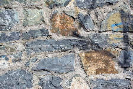 stone wall: wall stone Stock Photo