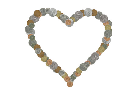 stingy: Heart with money
