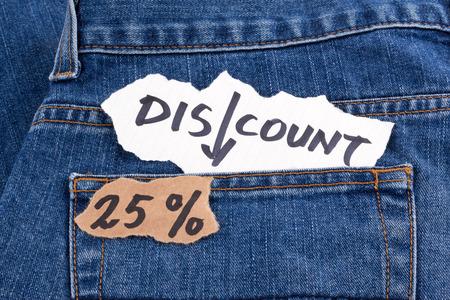 twenty five: discount twenty five percent