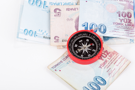 tl: compass and money
