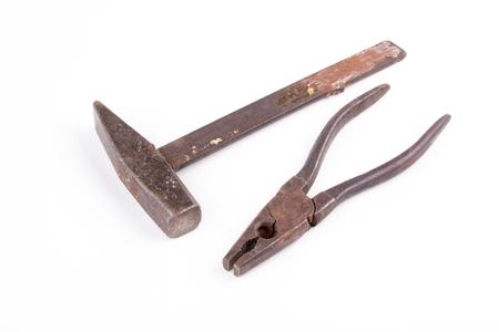 tongs: tongs and hammer