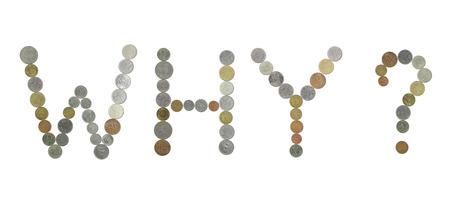 monete antiche: PERCHE parola con monete antiche