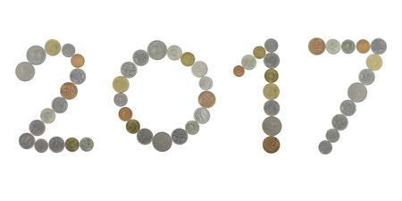 monete antiche: 2017 con le vecchie monete
