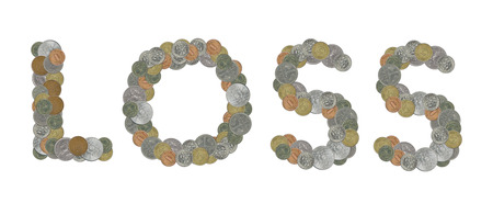 monete antiche: parola PERDITA con le vecchie monete