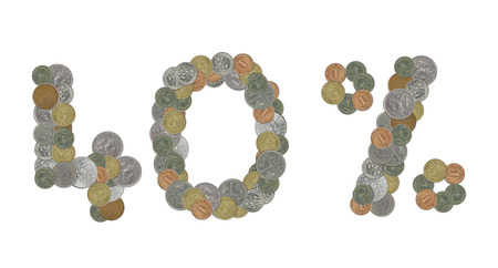 monete antiche: Il 40 per cento con le vecchie monete