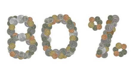 monete antiche: L'80 per cento con le vecchie monete