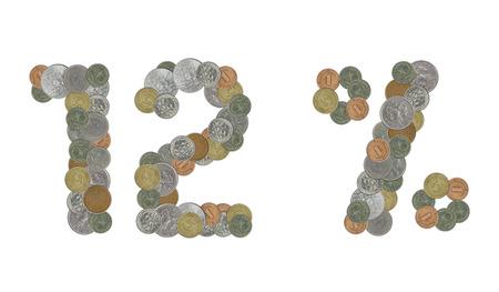 monedas antiguas: monedas antiguas 12 por ciento