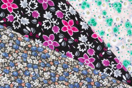 flowered: flowered fabric