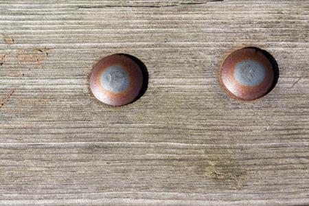 tornillos: tornillos oxidados