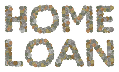 monedas antiguas: palabra HOME pr�stamo con monedas antiguas