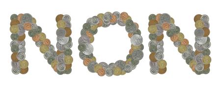 monete antiche: NO con le vecchie monete