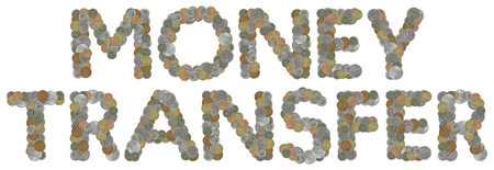 money transfer: MONEY TRANSFER with Old Coins