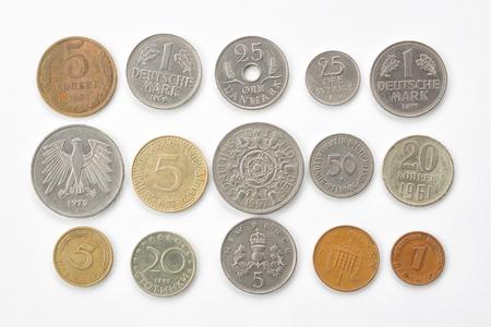 monete antiche: Vecchie monete