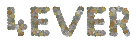 monete antiche: parola per sempre con le vecchie monete