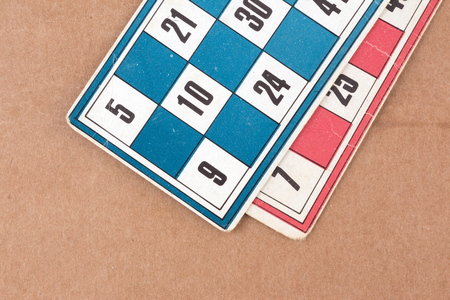 Tombola cards