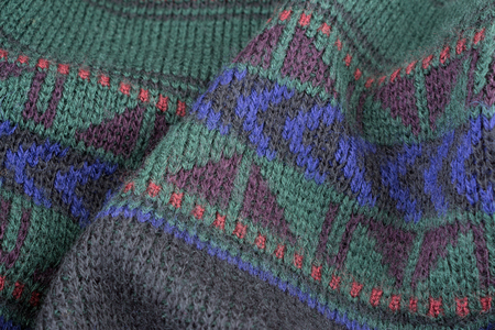 Knitted wool sweater texture