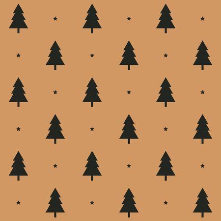 pine tree icon vector background. Banco de Imagens - 139071515