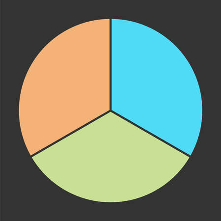 pie charts vector colorful info template.