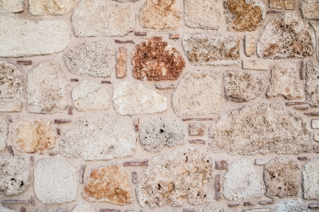 close-up photo of beautiful ancient stone wall