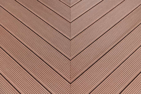 Brown wpc material composite deck for the construction of terraces
