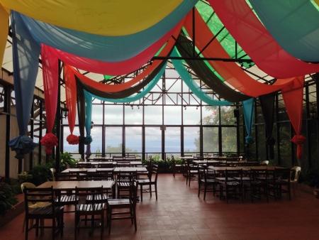interior: Interior of a restaurant