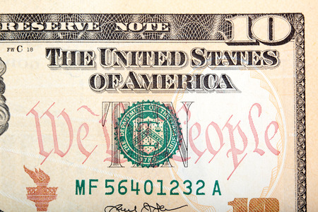 Ten Dollar Bill Stock Photos Images. Royalty Free Ten Dollar Bill ...