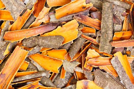 buckthorn: Buckthorn bark.