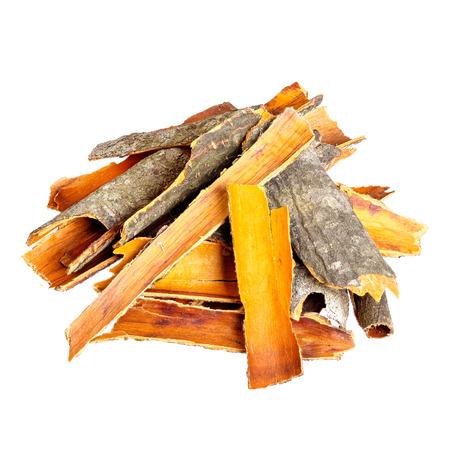 Buckthorn bark.
