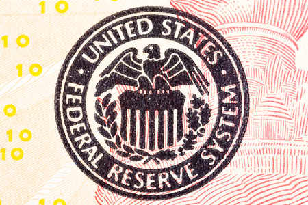 ted: Federal Reserve icon on a ted dollar bill.