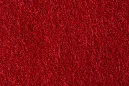 Red felt.