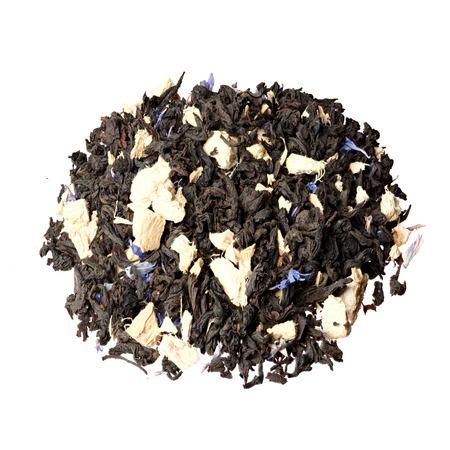 Black tea with ginger. Ginger grog.
