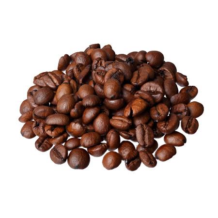 con: ?aff� con Mandorle, almond coffee (gourmet coffee) on white background.