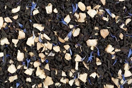 ginger: Black tea with ginger. Ginger grog.