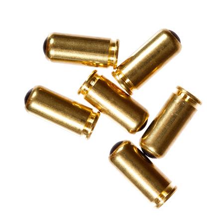9mm ammo: 9mm bullets.
