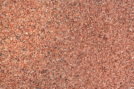 nb: Background texture from red sand. Stock Photo