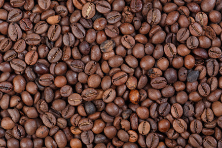 robusta: Texture of Camerun Robusta (gourmet coffee).