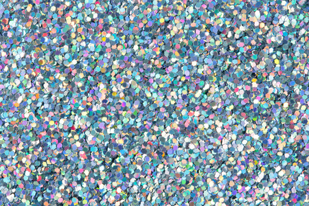 Holographic glitter texture.