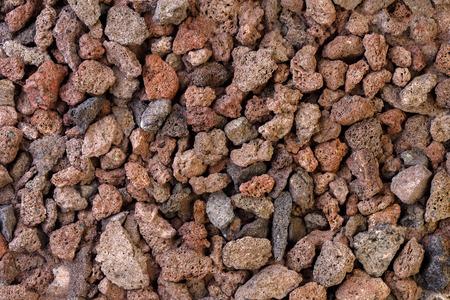 scoria: Texture from volcanic lava stones. Stock Photo