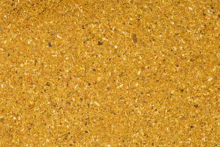 seasonings: A handful of dried seasonings hops-suneli. Hops suneli texture.
