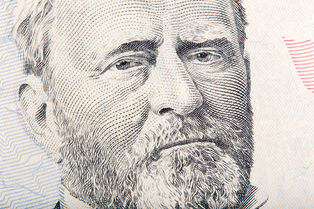 ulysses s  grant: U.S. President Ulysses S. Grant on the fifty dollar bill.