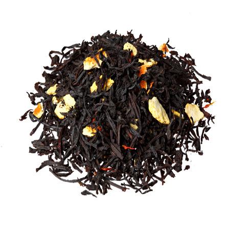 orange peel clove: Black tea with orange peels.
