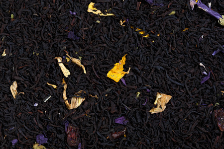 theine: Tea blend of cranberry, rose mallow, sunflower petals, aroma of cherries.